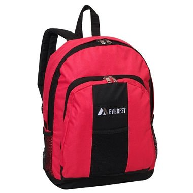 "Everest 17"" Backpacks - Hot Pink/black - 30 Ct."