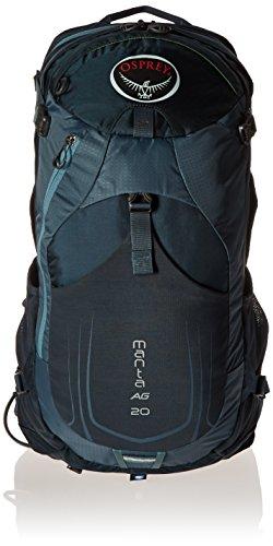 Osprey Packs Manta AG 20 Hydration Pack, Fossil Grey, One