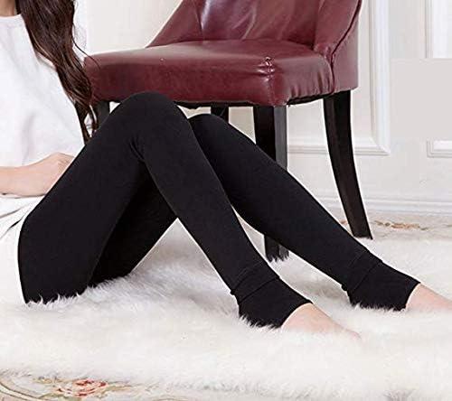 Nuonove Leggings Donna inverno super denso caldo velluto leggings Pant Leggings Inverno leggings invernali a vita alta Leggings donna di potenza stretch gambali