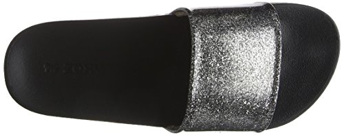 Slide Zaxy Black Glitter Femme Snap Multi Tongs Black awESxfAwq