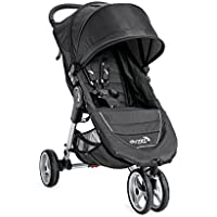 Baby Jogger 2016 City Mini 3W Single Stroller (Crimson/Gray)
