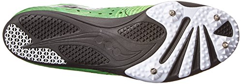 Saucony hombres Endorphin LD4 Track zapatos,Slime/negro,7 M US