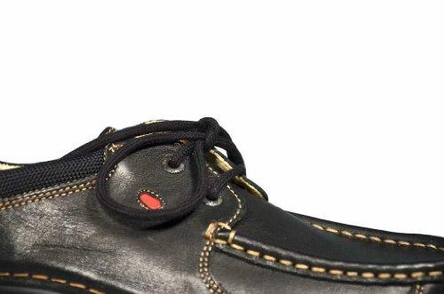 Comfort Shoe Schwarz Leder Wolky 300 Roll Schnürschuhe 4qCnzwd