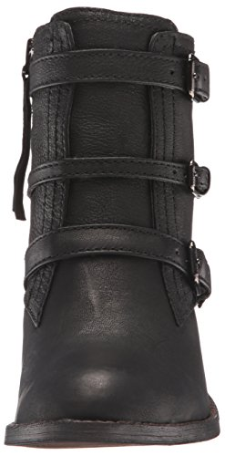 Nine West Frauen FITZ Geschlossener Zeh Leder Fashion Stiefel Black