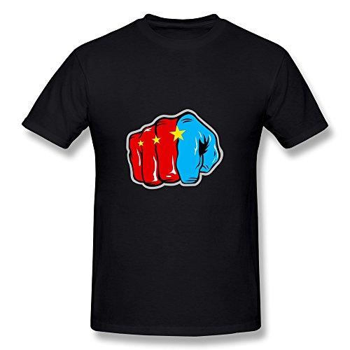 LVHUAN Mens Philippine Legend Manny Pacquiao T Shirts Size M Black