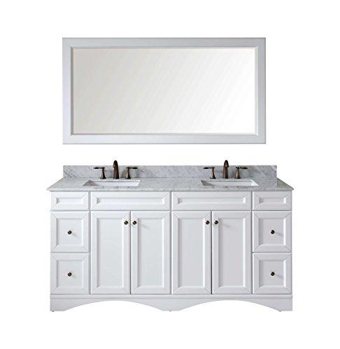 Talisa Double Bathroom Vanity Cabinet Set Espresso
