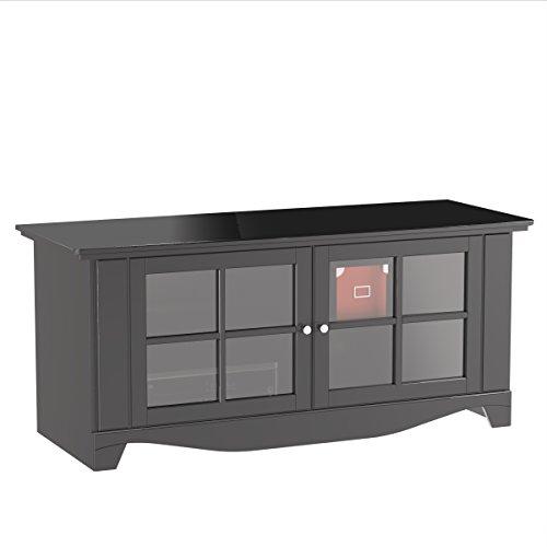 Pinnacle 56-inch TV Stand 100606 from Nexera - Black by Nexera