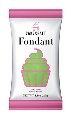 (Cake Craft Rolled Fondant - LIVELY LIME/Vanilla, 250gr)