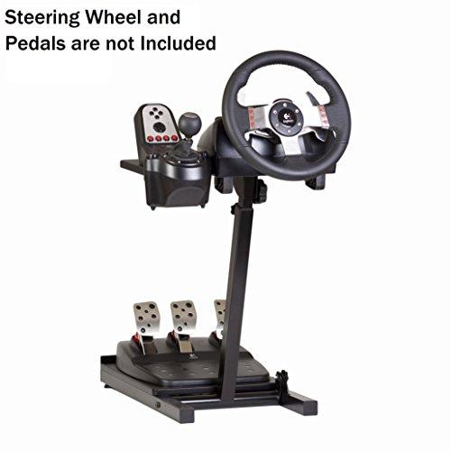The Ultimate Steering Wheel Racing Game Stand