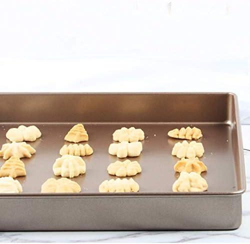 フェンコー高品質 家族の台所DIVのベーキング皿、正方形の金の炭素鋼の焦げ付き防止のベーキングプレート、ケーキパンのビスケットのピザ、等のために適した フェンコー高品質
