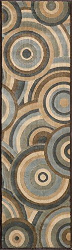 Momeni Rugs DREAMDR-05BRN2376 Dream Collection, Contemporary Area Rug, 2'3