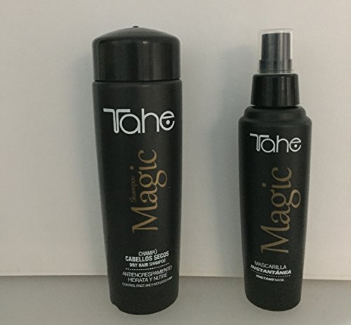 Tahe Magic Dry Hair Shampoo 250ml Plus Instant Mask 125ml by Tahe