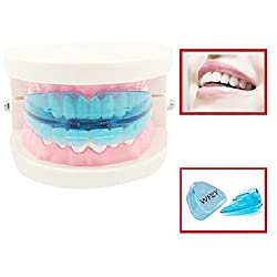 WFZY Professional Dental Guard, Upgraded Mouth Guard For Teeth Grinding, Anti Grinding Dental Night Guard, Stops Bruxism, Tmj & Eliminates Teeth Clenching, Bottom Make White Tooth Beautiful Neat 10Pcs