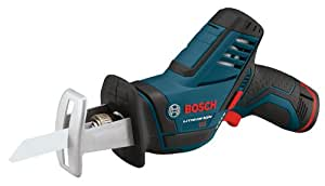 Bosch PS60-102 12-Volt Max Lithium-Ion Reciprocating Saw Kit with (1) High Capacity Battery and Charger