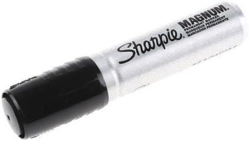 10x Various Style BLACK MARKER PEN PACKS Black Ink Chisel Bullet Thin Tip Nib
