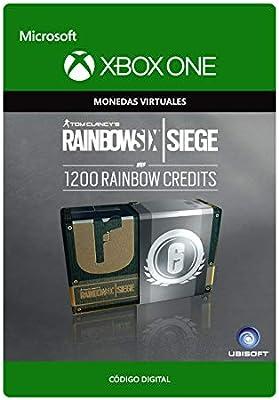 Tom Clancys Rainbow Six Siege Currency pack 1200 Rainbow credits ...