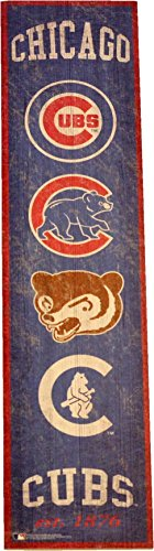 Fan Creations Chicago Cubs Heritage Banner Wood Sign 6