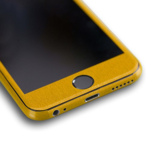 AppSkins Vorderseite iPhone 6 Metal pure gold