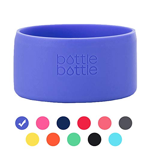 Protective Silicone Sleeve Fit 12-64oz for Hydro Flask,Simple Modern,Takeya,MIRA, Iron Flask and Other Brand Water Bottle,Travel Pet Bowl for Dog Cat Food Feeding has Square and Rounded Bottom Boot
