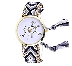 Amazon.com: Windoson Latest Womens Butterfly Watches Ladies Watches Female Watches Knitted Watches (Blue): Electronics