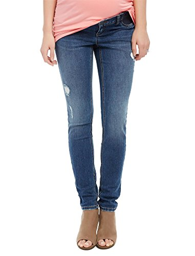 Motherhood Side Panel Skinny Leg Maternity Jeans - Underbelly Maternity Jeans