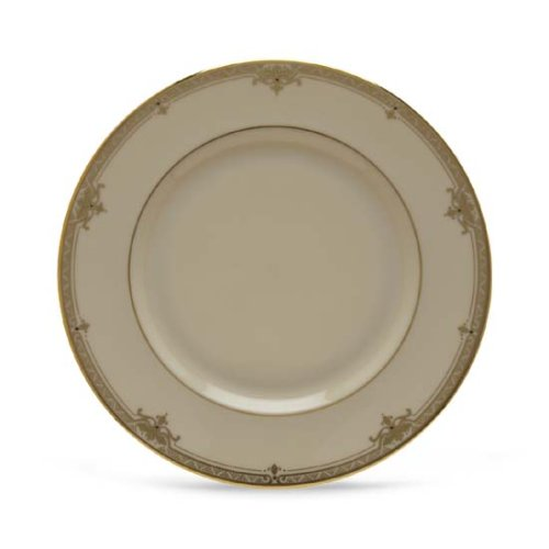 China Ivory Salad Plate Banded - Lenox Republic Gold Banded Ivory China Salad Plate