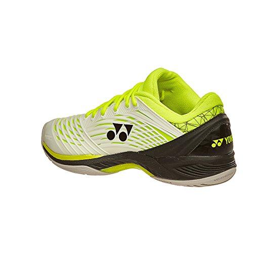 Scarpa Tennis Yonex Fusionrev 2 All Court Bianco/giallo Mens Shoe