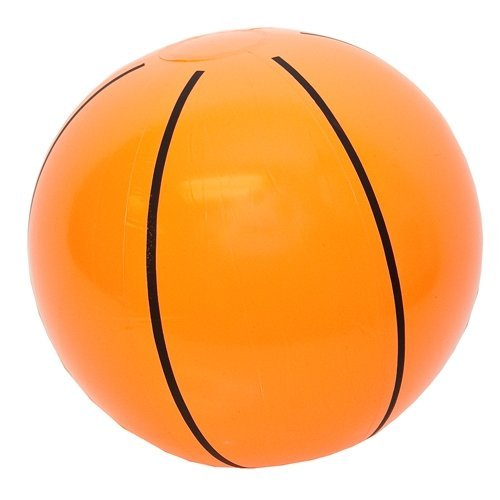 "Rhode Island Novelty Inflatable Basketballs 16"" - 12 Per Order"