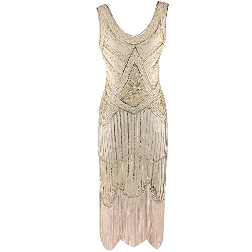Flapper Dress Gatsby Dresses - 1920s Fringe Dress