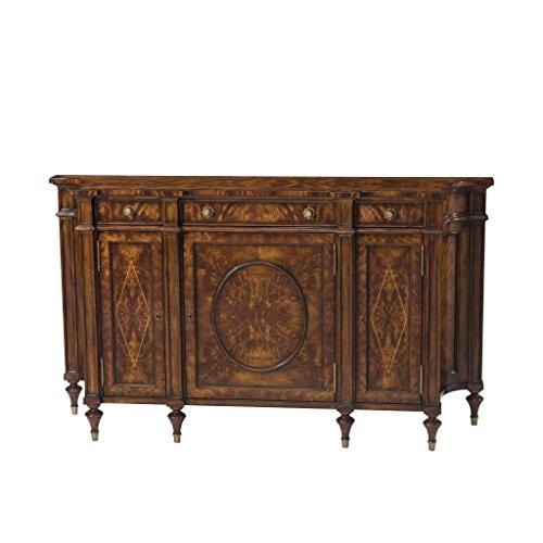 Regency Mahogany Side Cabinet ()