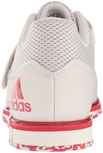 Adidas Mens Powerlift.3.1 Cross-trainer Scarpe Gesso Perla / Gesso Perla / Scarlatto