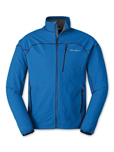 Eddie Bauer Men's Sandstone Soft Shell Jacket, Ascent Blue Regular M ()