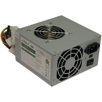 Logisys Corp. 480W 20+4Pin Dual Fan 20+4 ATX Power Supply (PS480D2)