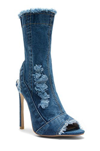HerStyle Agianna Karice Distressed stiletto product image