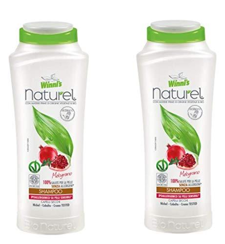 Winni's: Pomegranate Shampoo for Dry Hair 250ml / 8.45fl.oz, pack of 2