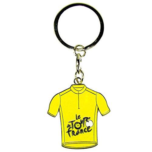 Yellow Jersey Tour de France Keychain - Yellow