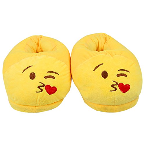Bande d'hiver Pantoufle Peluche Emoji Pantoufle Votre en Unisexes Pantoufles Belles de de Maison Comment Kitty de d'intérieur Dragon Jaune Former Dessinée de Chaussures Pantoufles Chaudes HqOwOnC1