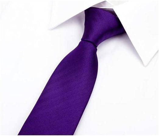 HU Corbata Traje de Negocios de Moda para Hombre Camiseta Corbata ...