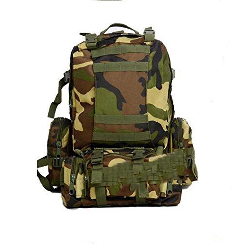 XD-DE-Combo Pack Attack Rucksack/Rucksack/Tasche der Taktik/Bereich Outdoor-Pack Pack Camo d