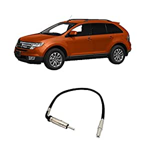 415DQr2ZZKL._SY300_QL70_ amazon com ford edge 2007 2010 factory stereo to aftermarket 2008 ford edge stereo wiring harness at gsmx.co