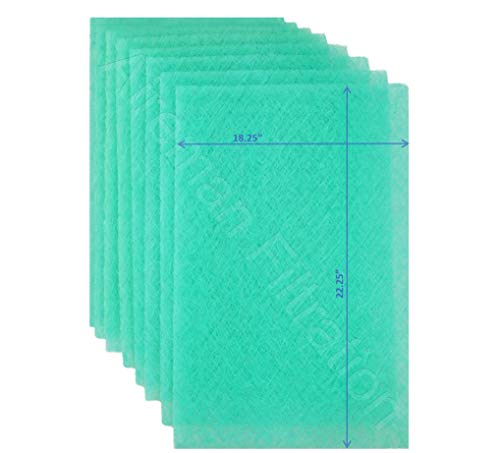 Wingman1 Electronic AC Furnace Air Filter Replacement Pads Year Supply - 4 Changes (20x25x1) (Electronic Filter 20 Air)