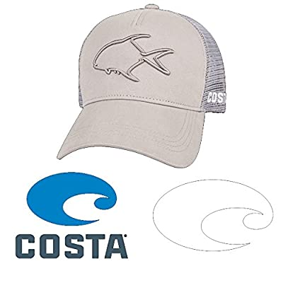 Costa Stealth Permit Trucker Hat and Stickers Decal Pack from Costa