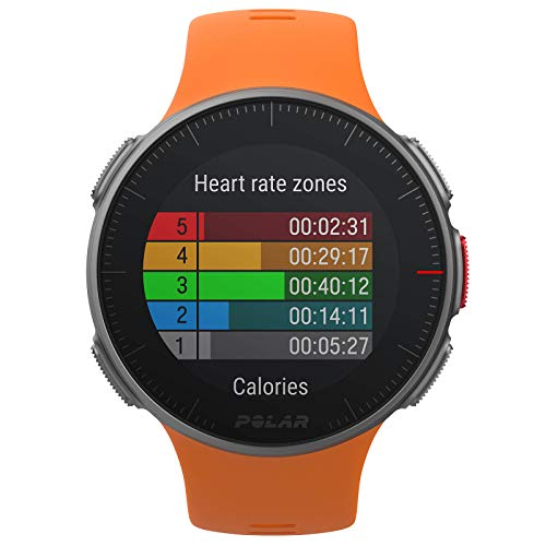 PlayBetter Polar Vantage V Pro (Orange with H10 Heart Rate Sensor) Power Bundle Portable Charger & Screen Protectors | Multisport Watch | GPS & Barometer by PlayBetter (Image #3)