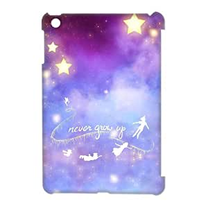 "Unique Design ""Never Grow Up Quotes"" Hard Printed Case Protector for Ipad Mini Case(4)"
