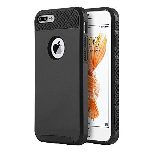 iPhone 6 6s Case Shockproof, Slim Anti-Scratch Protective Kit with (Dual Layer Grip)
