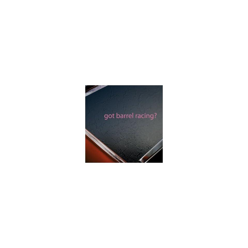 Got Barrel Racing? Pink Decal Horse Race Window Pink Sticker