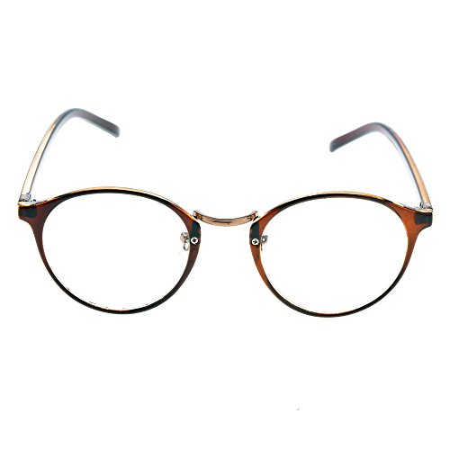 Lantusi Women Retro Vintage Loop Frame Plastic Reading - Fake Readers