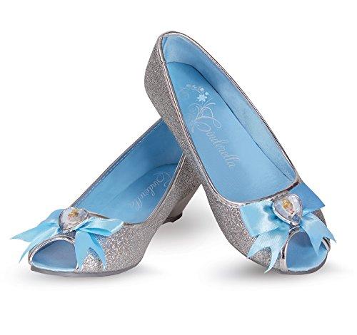 Cinderella Prestige Shoes, Blue, 9/10 (Cinderella Costume Shoes)