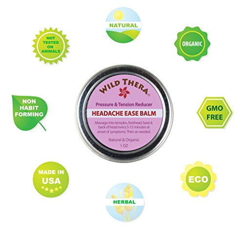 Migraine Balm Recipe for Headache Relief