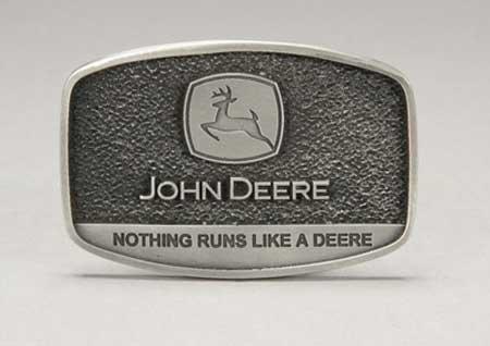John Deere Pewter Logo